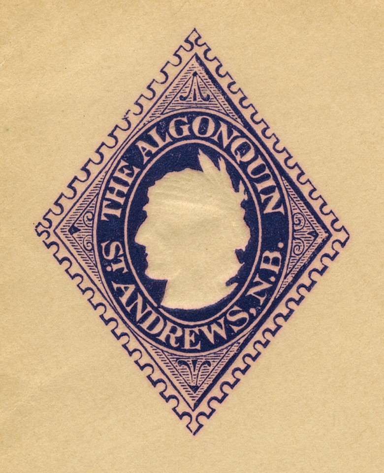 Algonquin Envelope Detail - 1896 [St. Andrews]
