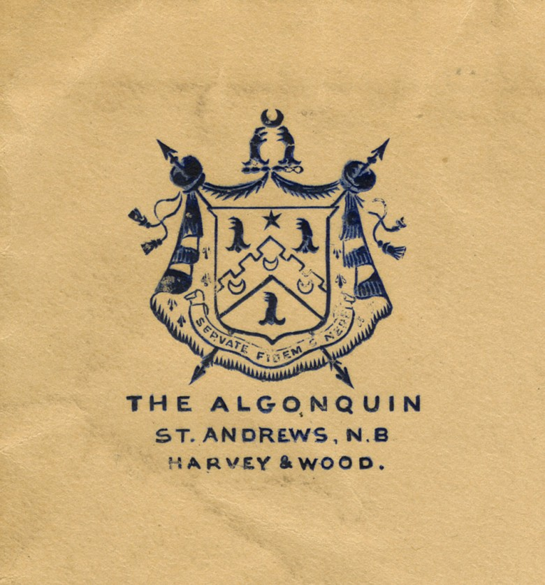 Algonquin Envelope Detail - 1903