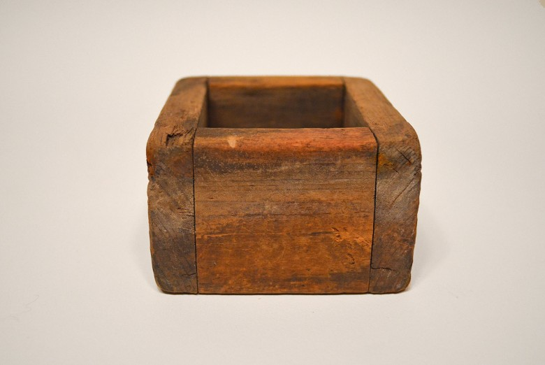Wood Basket Mold [Passamaquoddy]