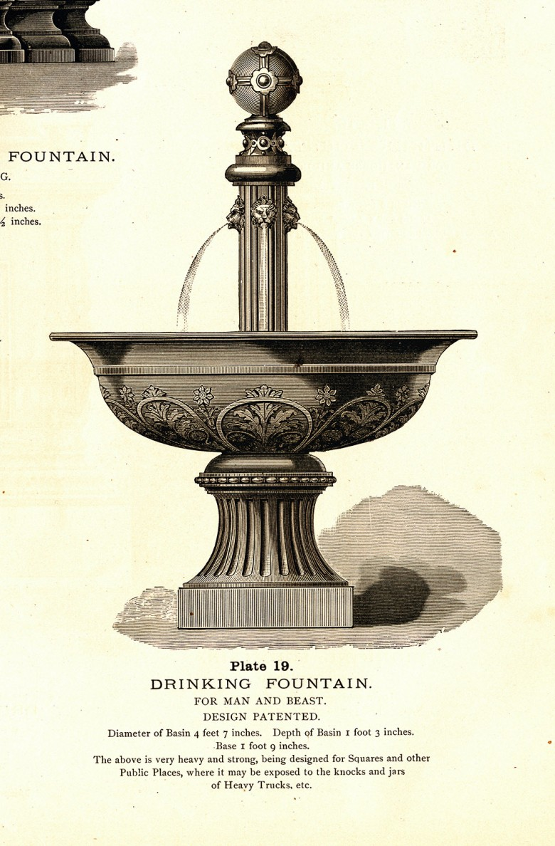 Water Fountain Plan [Bank Square, Eastport]