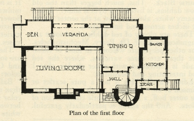 Pansy Patch - First Floor Plan [St. Andrews]
