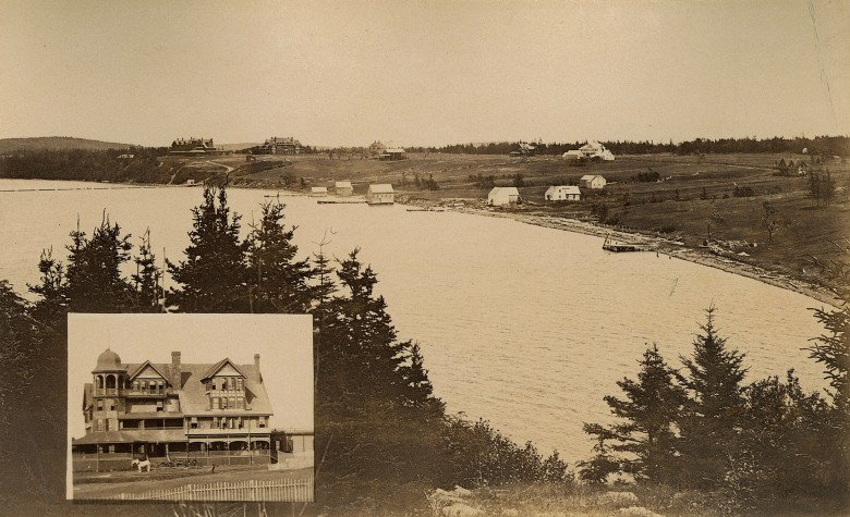 Quality Of Place View Art Friar S Bay Campobello Island New Brunswick With Tyn Y Coed And Maes Hotels