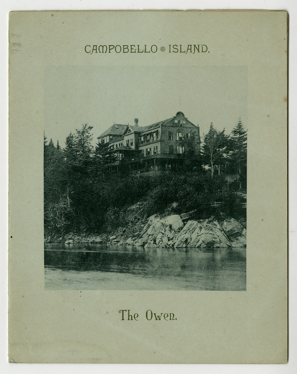 Quality Of Place View Art Owen Hotel Campobello Island New Brunswick