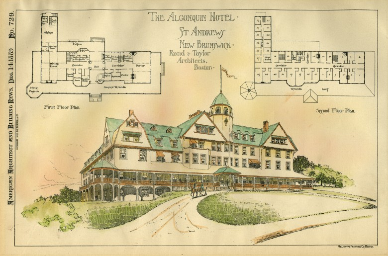 The Algonquin Hotel, St. Andrews, New Brunswick