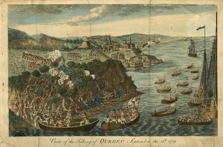 View of the Taking of Quebec