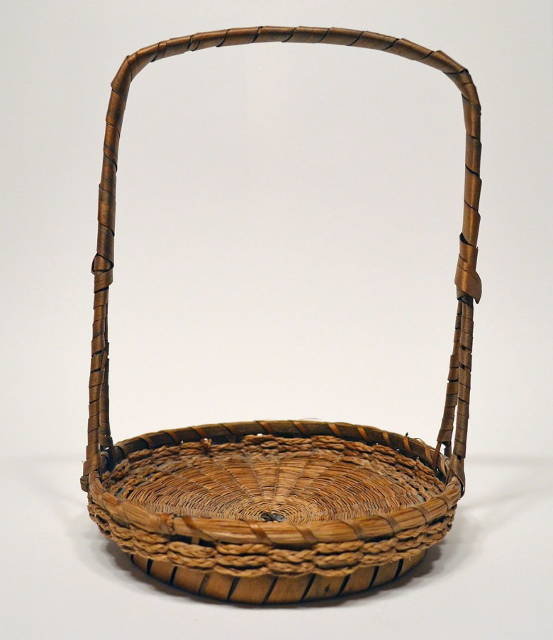Gathering Basket with Tall Handle [Passamaquoddy]