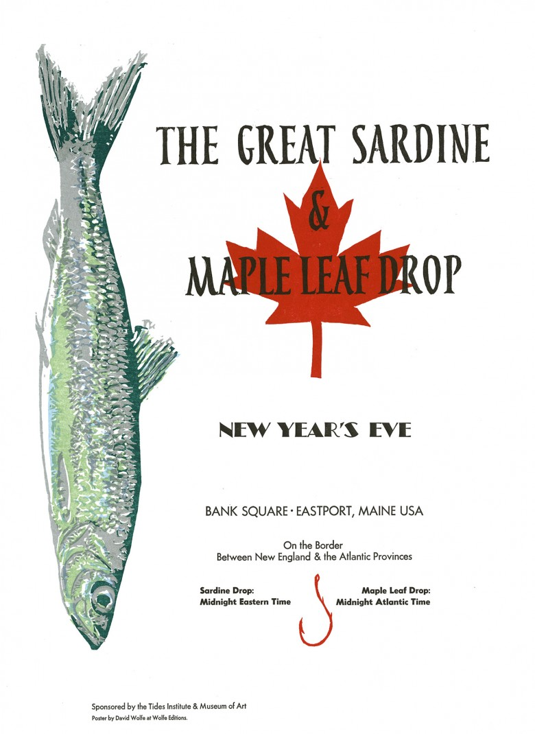 The Great Sardine & Maple Leaf Drop - New Year's Eve